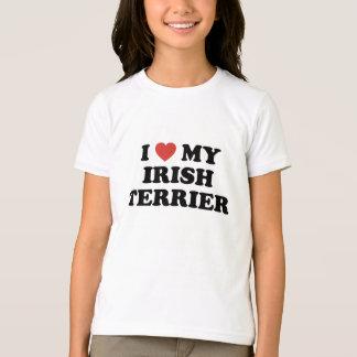 I Heart My Irish Terrier T-Shirt