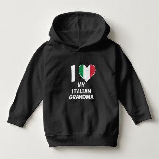 I Heart My Italian Grandma Hoodie