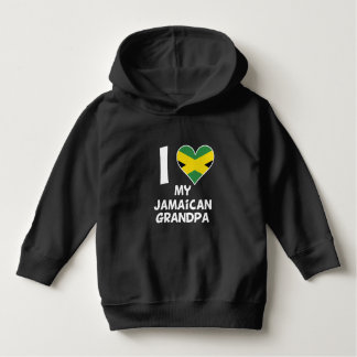 I Heart My Jamaican Grandpa Hoodie