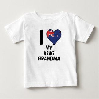 I Heart My Kiwi Grandma Baby T-Shirt