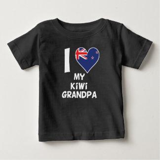 I Heart My Kiwi Grandpa Baby T-Shirt