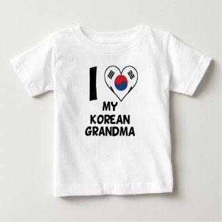 I Heart My Korean Grandma Baby T-Shirt