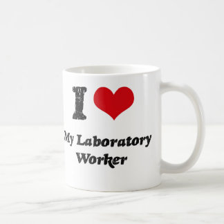 I heart My Laboratory Worker Coffee Mug
