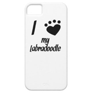 I Heart My Labradoodle Case For iPhone 5/5S