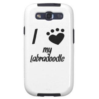 I Heart My Labradoodle Samsung Galaxy SIII Case