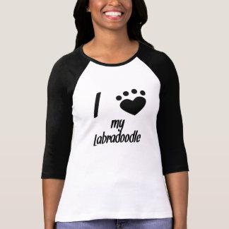 I Heart My Labradoodle Tee Shirts