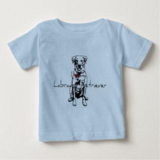 "I ""heart"" my Labrador Retriever words with graphic Baby T-Shirt"