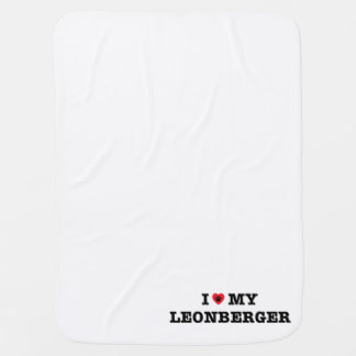 I Heart My Leonberger Baby Blanket