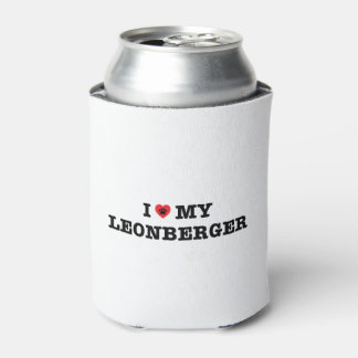I Heart My Leonberger Can Cooler
