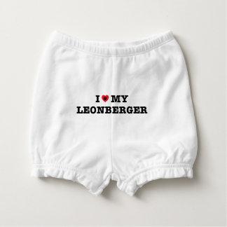 I Heart My Leonberger Diaper Cover