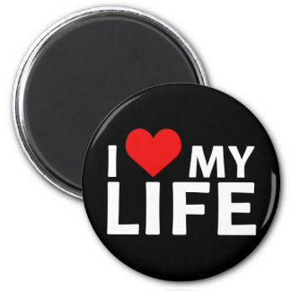 I Heart My Life Collection Magnet