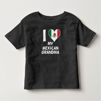 I Heart My Mexican Grandma Toddler T-shirt