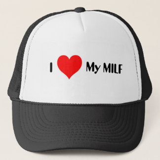 I Heart My MILF Trucker Hat