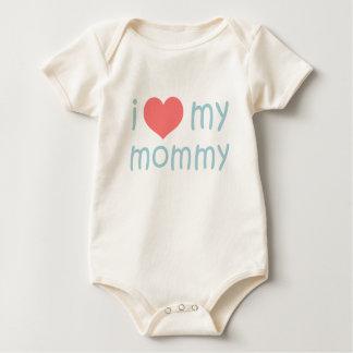 i heart my mommy baby bodysuit