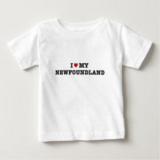 I Heart My Newfoundland Baby T-Shirt