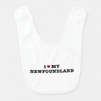 I Heart My Newfoundland Bib