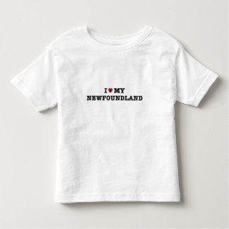 I Heart My Newfoundland Toddler T-shirt
