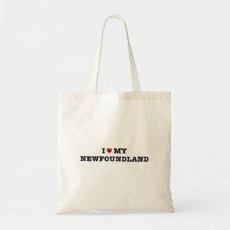 I Heart My Newfoundland Tote Bag