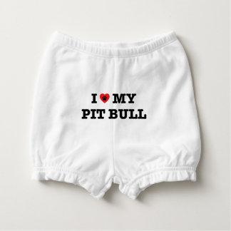 I Heart My Pit Bull Diaper Cover