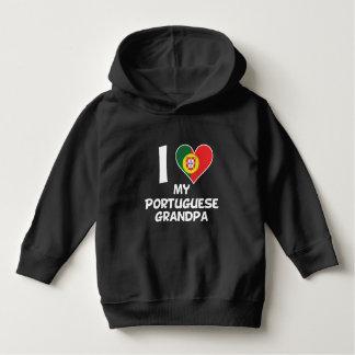 I Heart My Portuguese Grandpa Hoodie