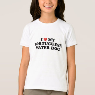 I Heart My Portuguese Water Dog T-Shirt