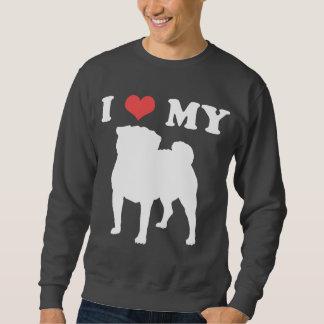 I Heart My Pug 2 Sweatshirt
