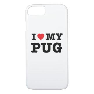 I Heart My Pug Phone Case