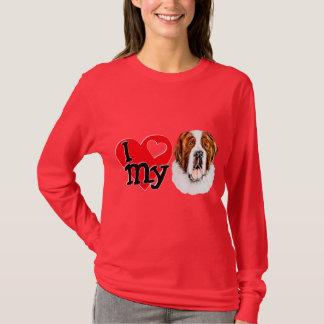 I (heart) my Saint Bernard T-Shirt