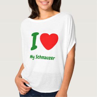 I Heart My Schnauzer T-Shirt