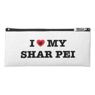 I Heart My Shar Pei Pencil Case