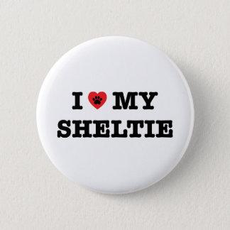 I Heart My Sheltie Button