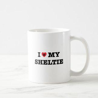 I Heart My Sheltie Coffee Mug