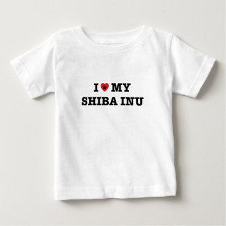 I Heart My Shiba Inu Baby T-Shirt