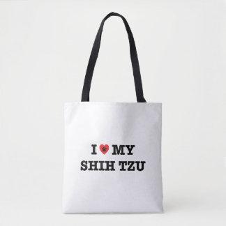 I Heart My Shih Tzu Tote Bag