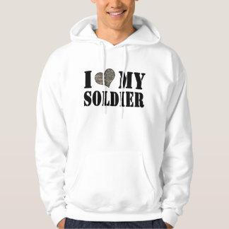 I Heart My Soldier Hoodie