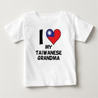 I Heart My Taiwanese Grandma Baby T-Shirt