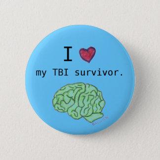 """I [heart] my TBI survivor"" button"