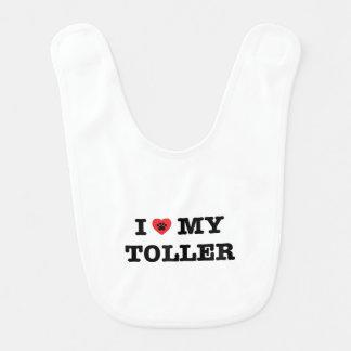 I Heart My Toller Bib