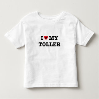I Heart My Toller Toddler T-shirt