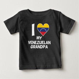 I Heart My Venezuelan Grandpa Baby T-Shirt