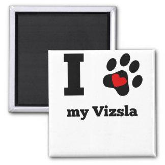 I Heart My Vizsla Magnet