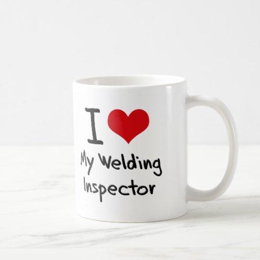 I heart My Welding Inspector Mug