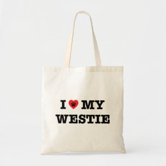 I Heart My Westie Tote Bag