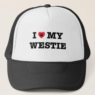 I Heart My Westie Trucker Hat