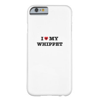I Heart My Whippet iPhone 6 Case