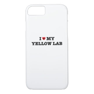 I Heart My Yellow Lab iPhone 7 Case
