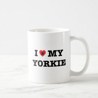 I Heart My Yorkie Coffee Mug