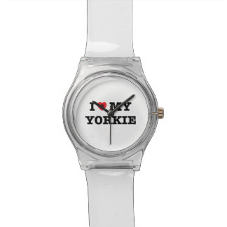 I Heart My Yorkie May28th Wrist Watch