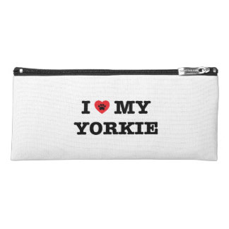 I Heart My Yorkie Pencil Case