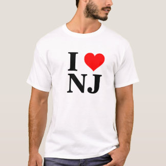 I heart N J T-Shirt